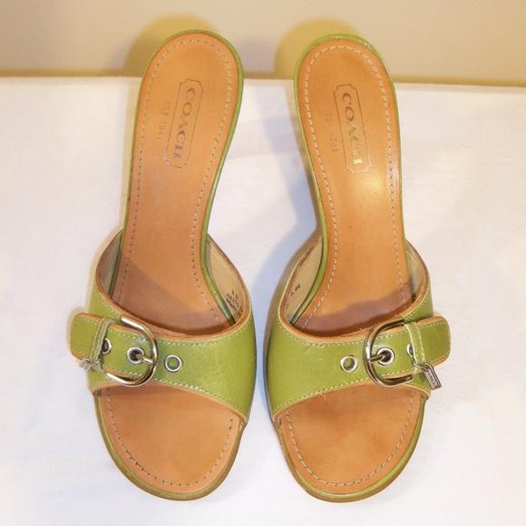 90bac66ac724 Coach Shoes - Coach Daryn Mule Sandal